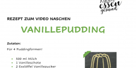 Voransicht Video Vanillepudding